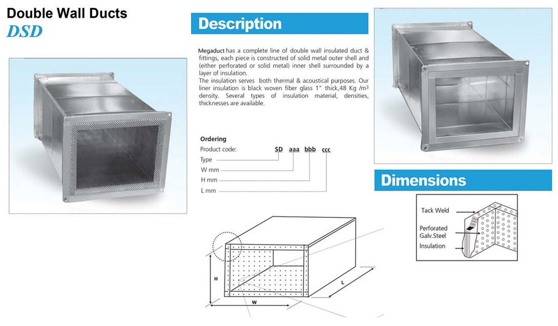 Double wall duct (DSD)