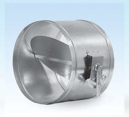 Round volume control damper-Single blade( RVCD)